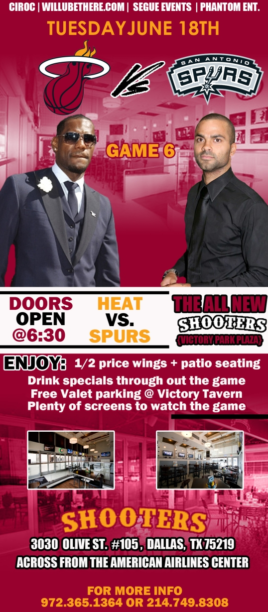 NBA Finals Watch Party 06 18