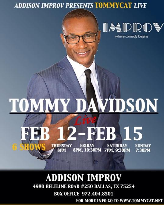TOMMY DAVIDSON FEBRUARY