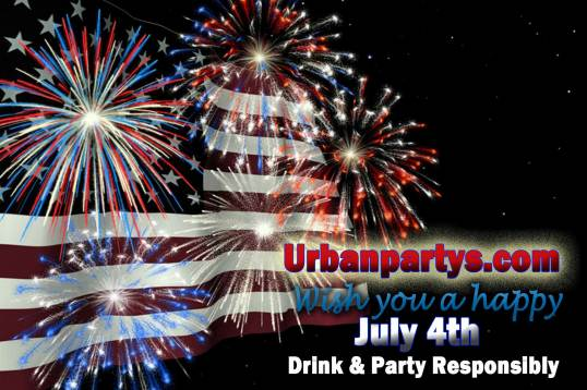 URBANPARTYS JULY4TH