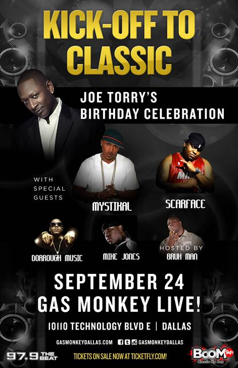 JOE TORRY BDAY
