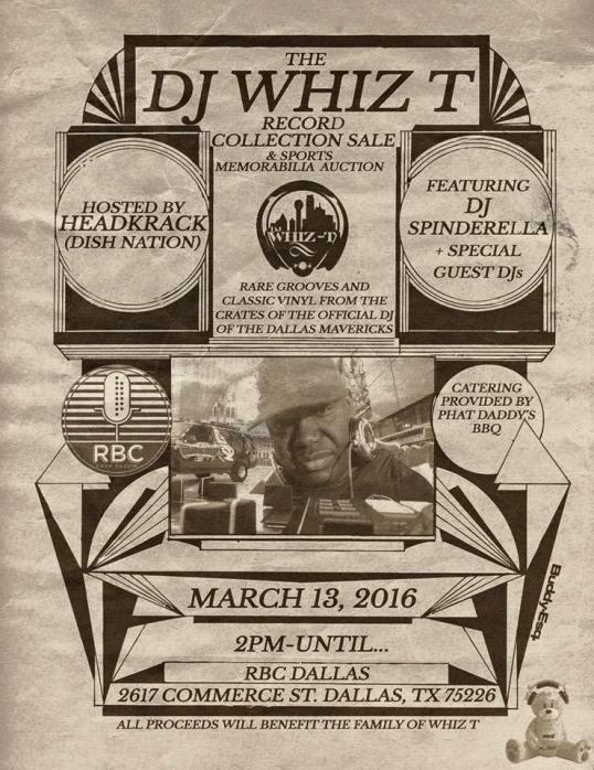 dj whiz t fundraiser