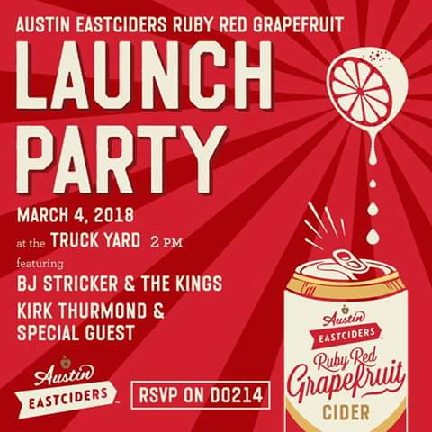AUSTIN EAST CIDERS DALLAS LAUNCH