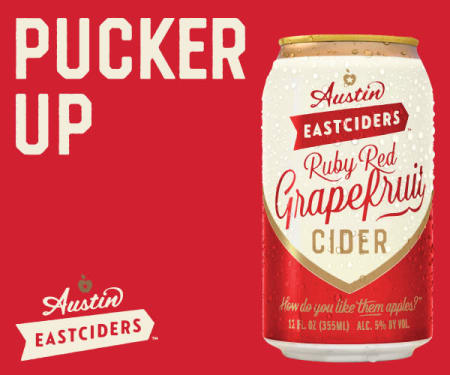 AUSTIN EAST CIDERS RUBY