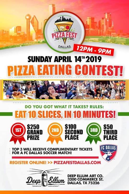 DALLAS PIZZA FEST CONTEST