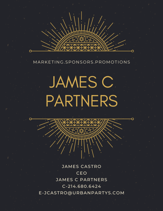 JAMES C PARTNERS PROMO
